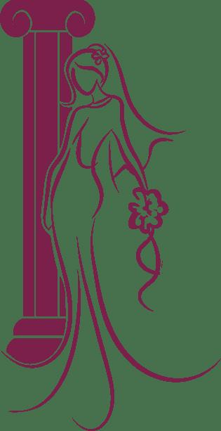 Braut Tempel Emblem