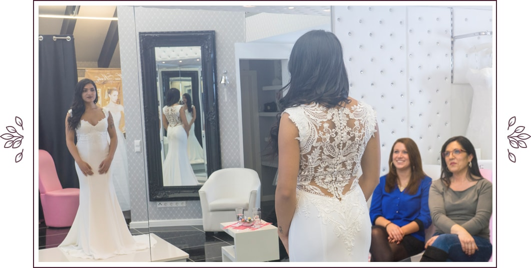 Der Brauttempel Innen