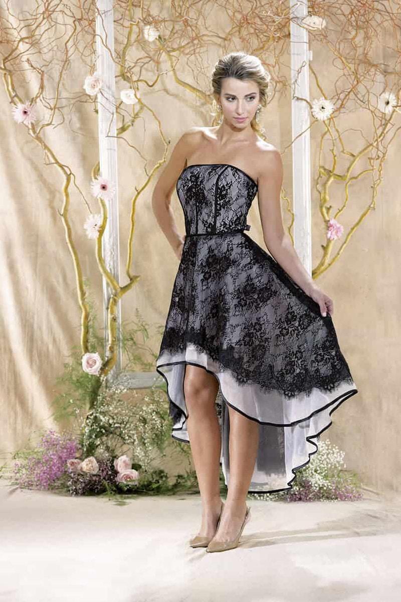 Das Kurze Brautkleid Auffallend Charmant Edel Und Sexy