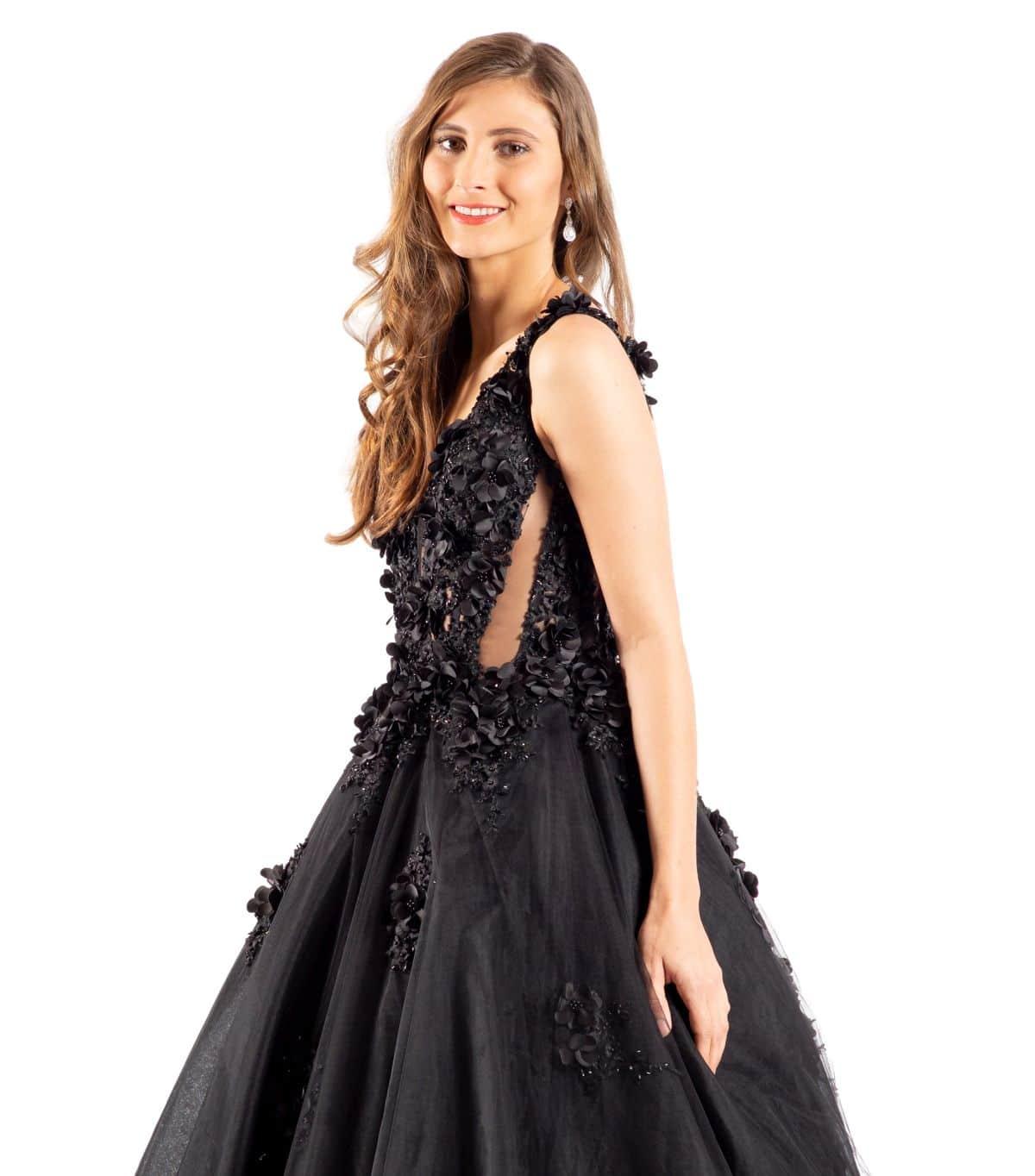 Ellaine schwarzes Brautkleid detailansicht.jpg